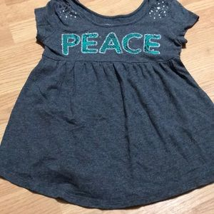 Justice Girls tee shirt size 8